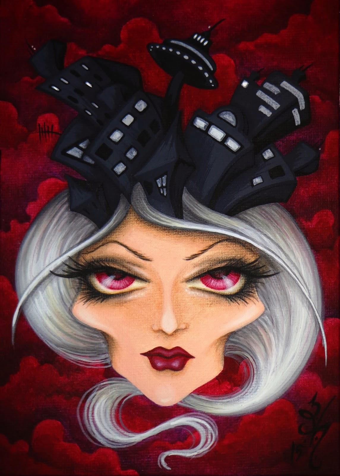 https://www.etsy.com/listing/217775774/8x10-print-fantasy-lowbrow-woman-face