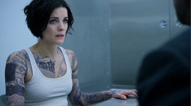 Blindspot pilot Jaimie Alexander as Jane Doe