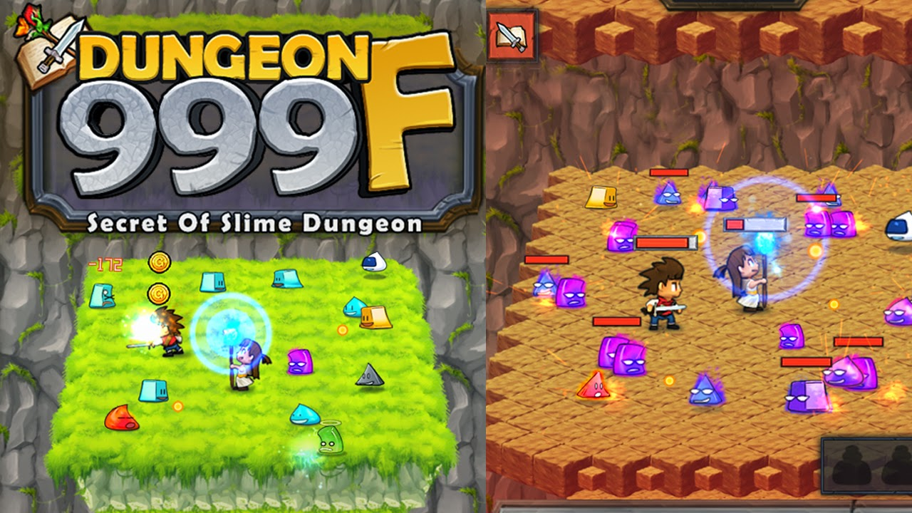 Dungeon999F Gameplay IOS / Android