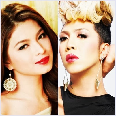 Angel Locsin and Vice Ganda, Twitter icons for 2013