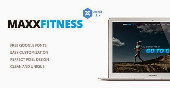 Best Responsive Multipurpsoe Fitness Template 2015