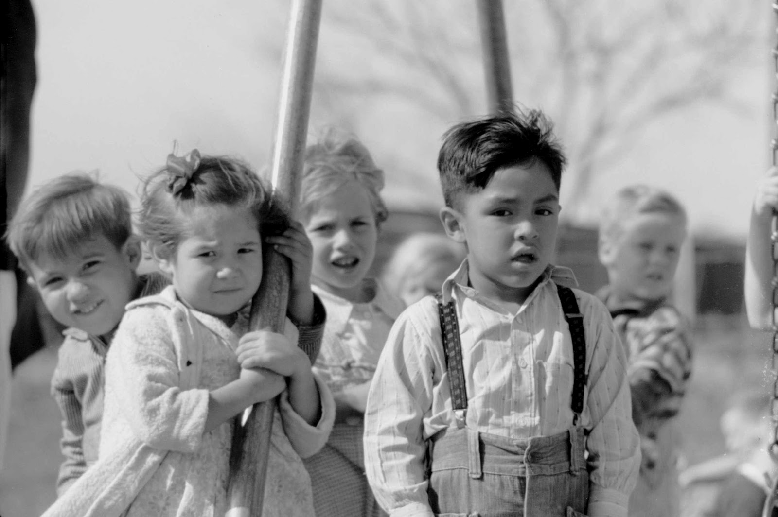 History in Photos: Arthur Rothstein - Kids