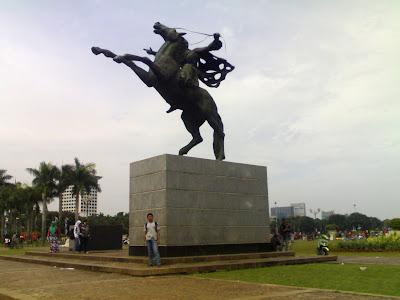 Patung Pengeran Diponegoro Monas