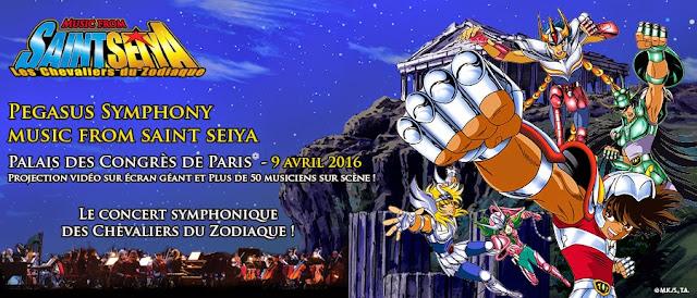 Pegasus Symphony : Music from Saint Seiya