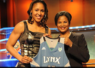 Jenn Sterger, WNBA Draft Rookies Maya Moore, Liz Cambage, Hotter