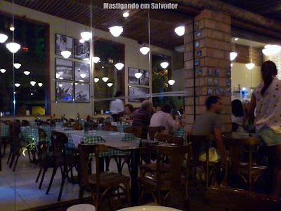 Cantina Volpi: Ambiente da loja da Pituba