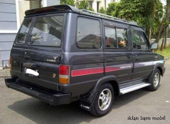 Dijual - Kijang Grand Extra 1995, iklan baris mobil