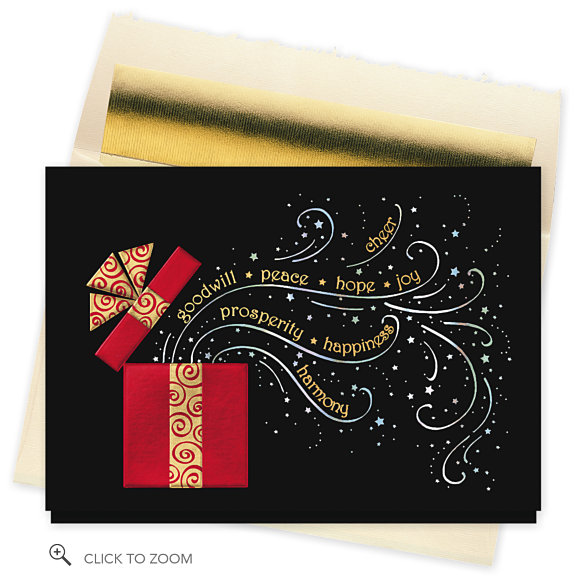 Greeting card ideas and tips business christmas card for Business christmas card ideas