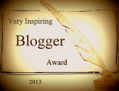 VERY ISPIRING BLOGGER AWARD 2013