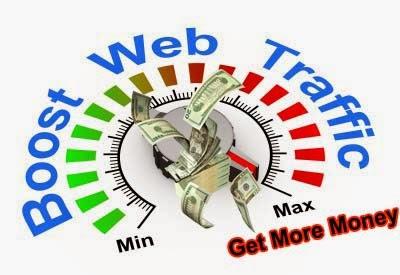 Ilustrasi meningkatkan traffic blog