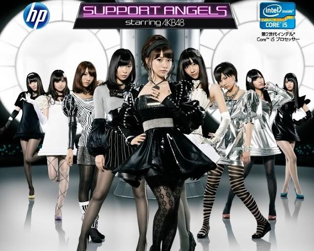 AKB48 大島優子、柏木由紀 代言HP電腦