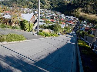 Cea mai abruptă stradă din lume