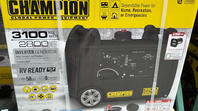 Champion Global Power Equipment 75555i Inverter Generator - portable