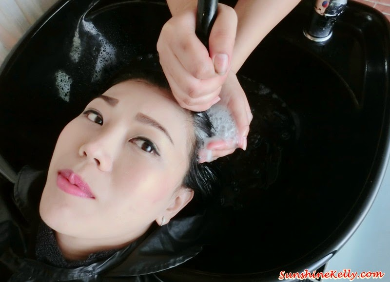 Tansan Spa, Sparkling Hair Wash, Scalp Treatment, number76 Mont Kiara, hair treatment review, hair review