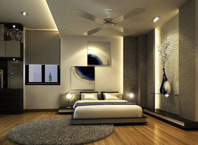 Latest stylish modern bed designs stylish bedrooms an for Latest interior design