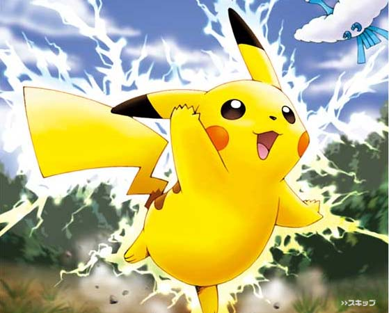 Pokemon pikachu happy vector game - Image pikachu ...