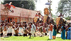 Thottuva Sree Dhanwanthari Temple in Ernakulam, Kerala