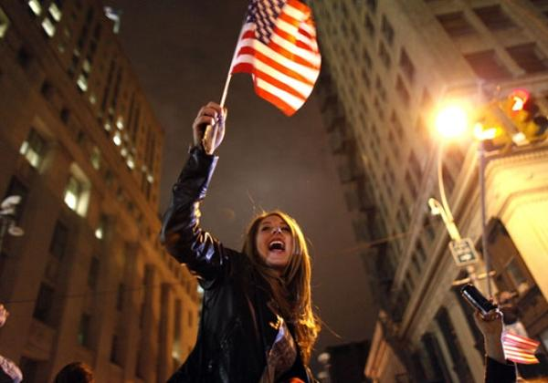 EUA comemora a morte de Bin Laden