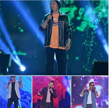 Khairool Idlan lagu Aku Yang Kau Panggil Sayang, Rem lagu Selingkar kasih, Zamree lagu Tugu Cinta dan Dwen lagu Suatu Waktu Dahulu.