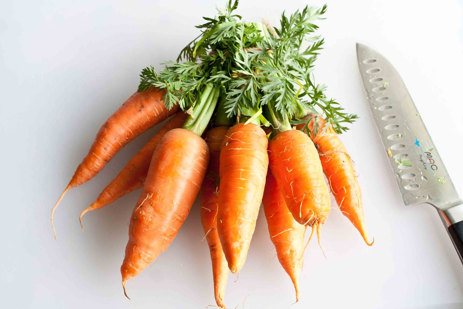 how to cut carrots into ribbons