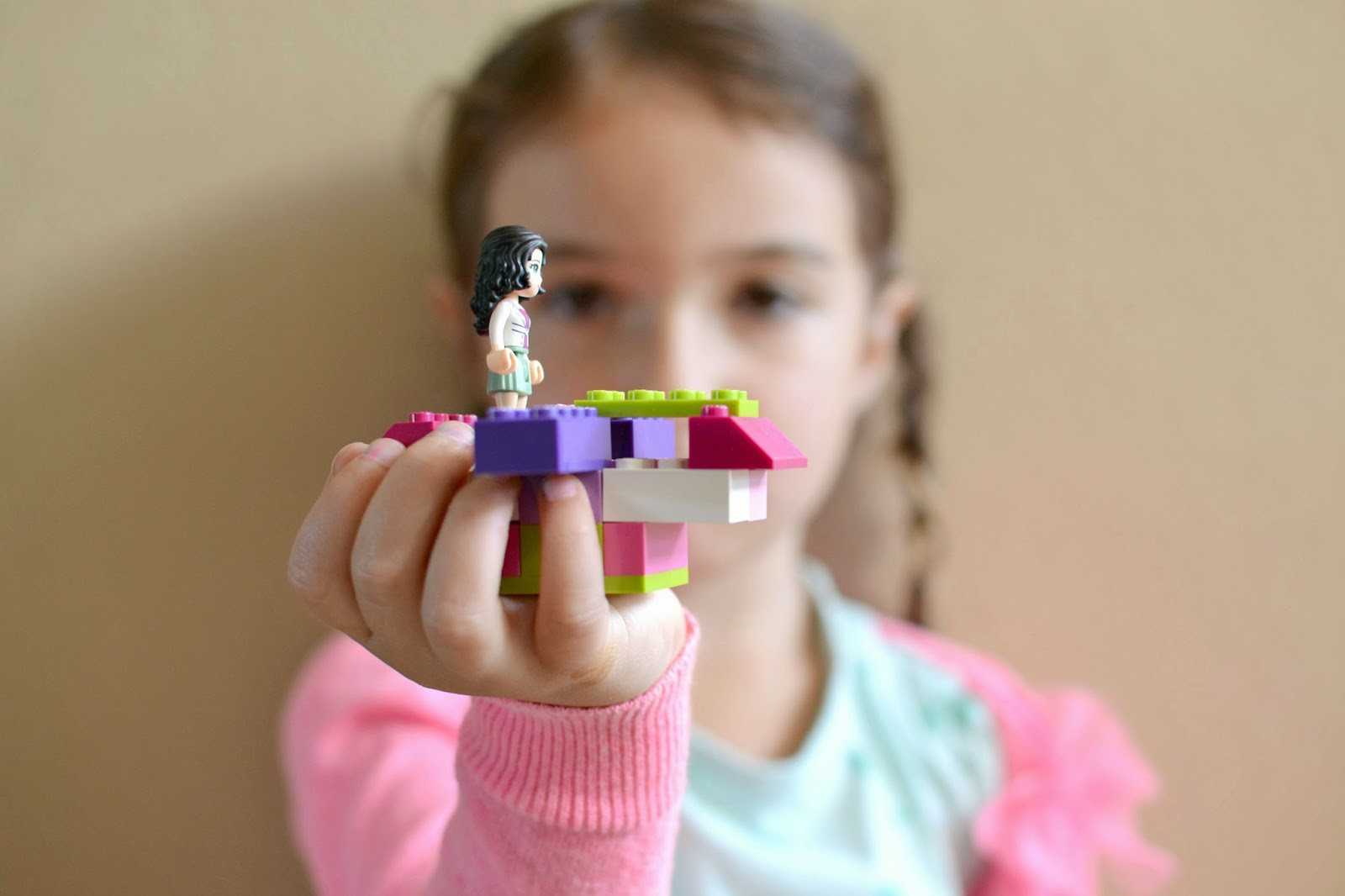 Mommy Testers, LEGO Friends, LEGO Friends news van, LEGO in a jar party favor, #LEGOFriendsCGC