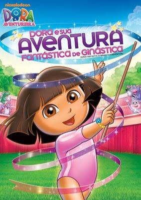 Capa - Dora e Sua Aventura Fantástica de Ginástica