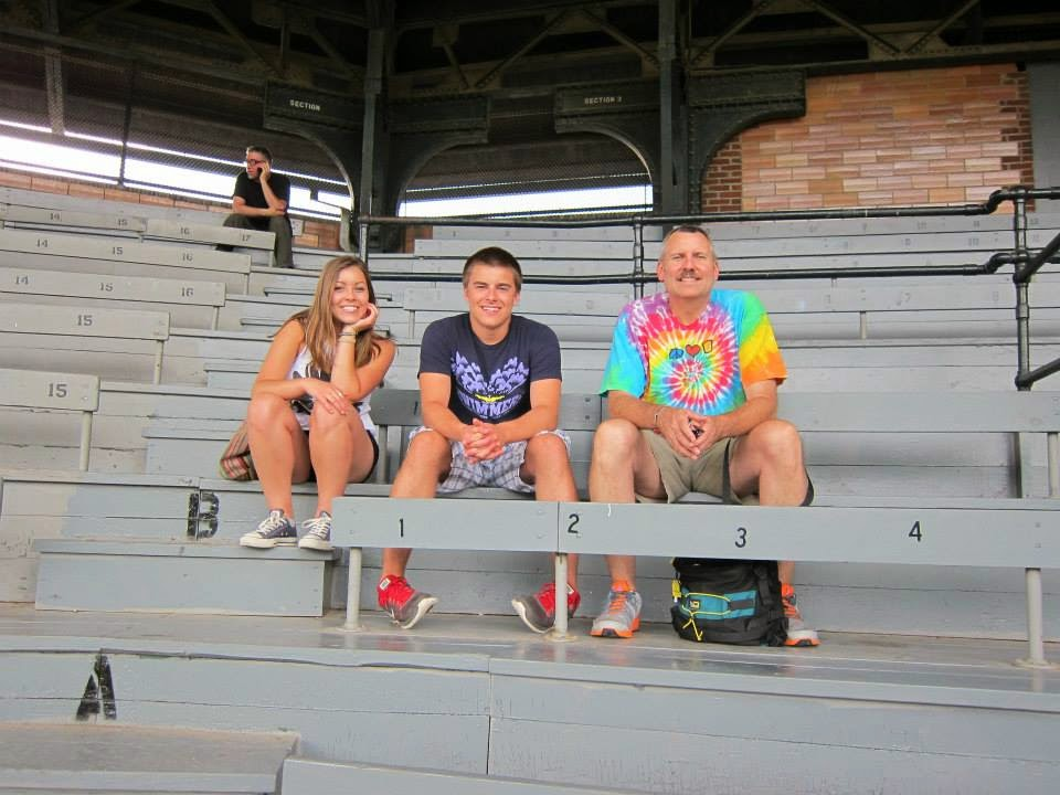 Kristin, Robert, and Matt at Doubleday Stadium