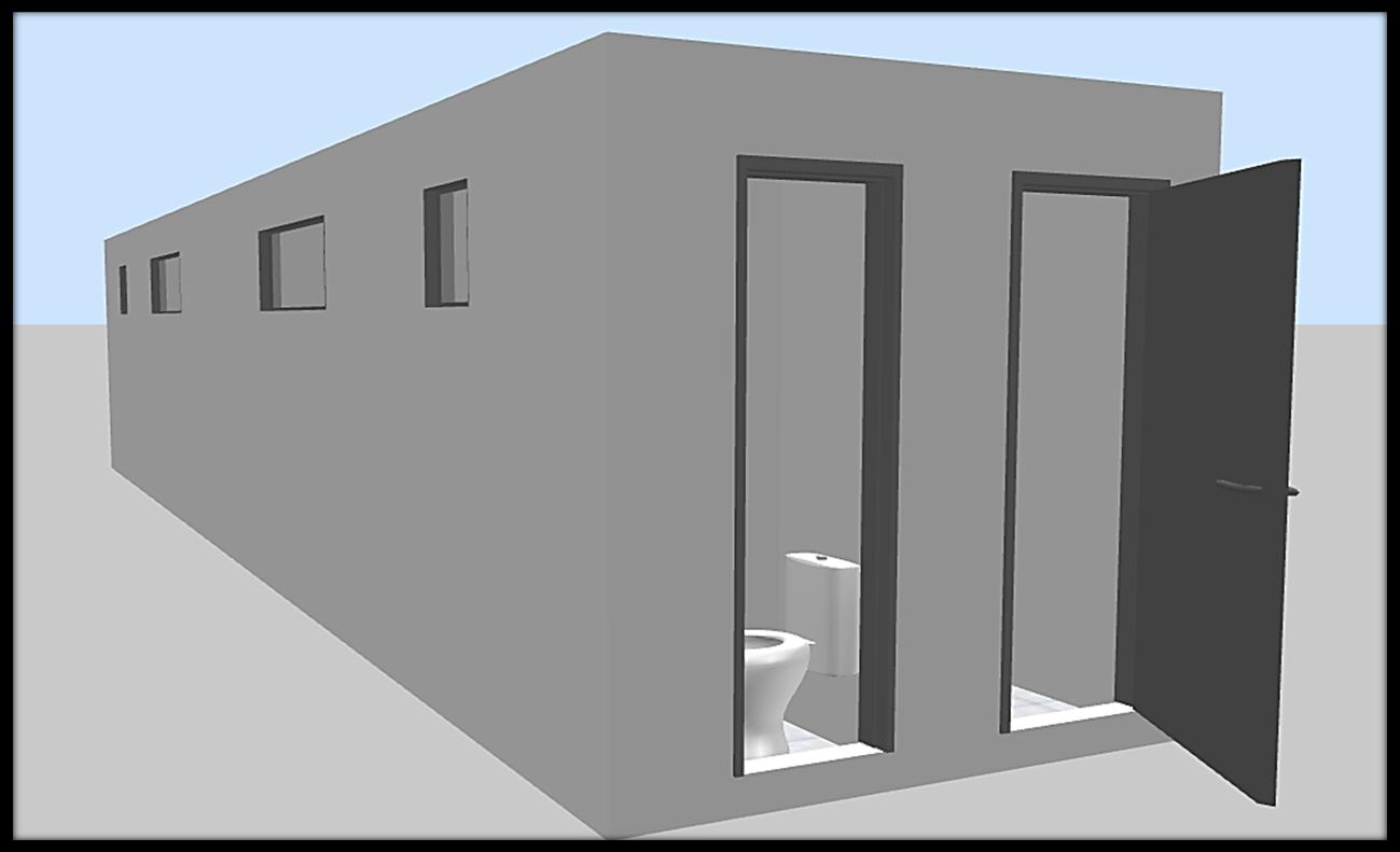REPARTAINER Projetos e Comércio de Containers: Vestiário Esportivo #4F647C 1299 791