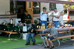 Michigan state parks accepting applications for 2015 campground hosts