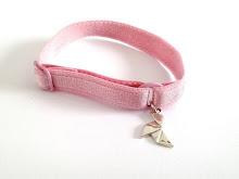 Je soutiens la lutte contre le cancer du sein, j'achète un bracelet Bretelle !