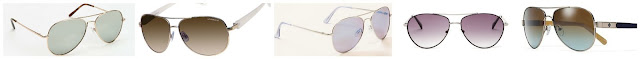 Urban Outfitters Classic Aviator Sunglasses $10.00 (regular $14.00)  Liz Claiborne Boucherie Aviator Sunglasses $15.99 (regular $32.00)  LOFT Mirrored Aviator Sunglasses $19.88 (regular $24.50)  BCBGMAXAZRIA Aviator Sunglasses $39.97 (regular $89.00)  Tory Burch Small Metal Aviator Sunglasses $99.00 (regular $165.00)