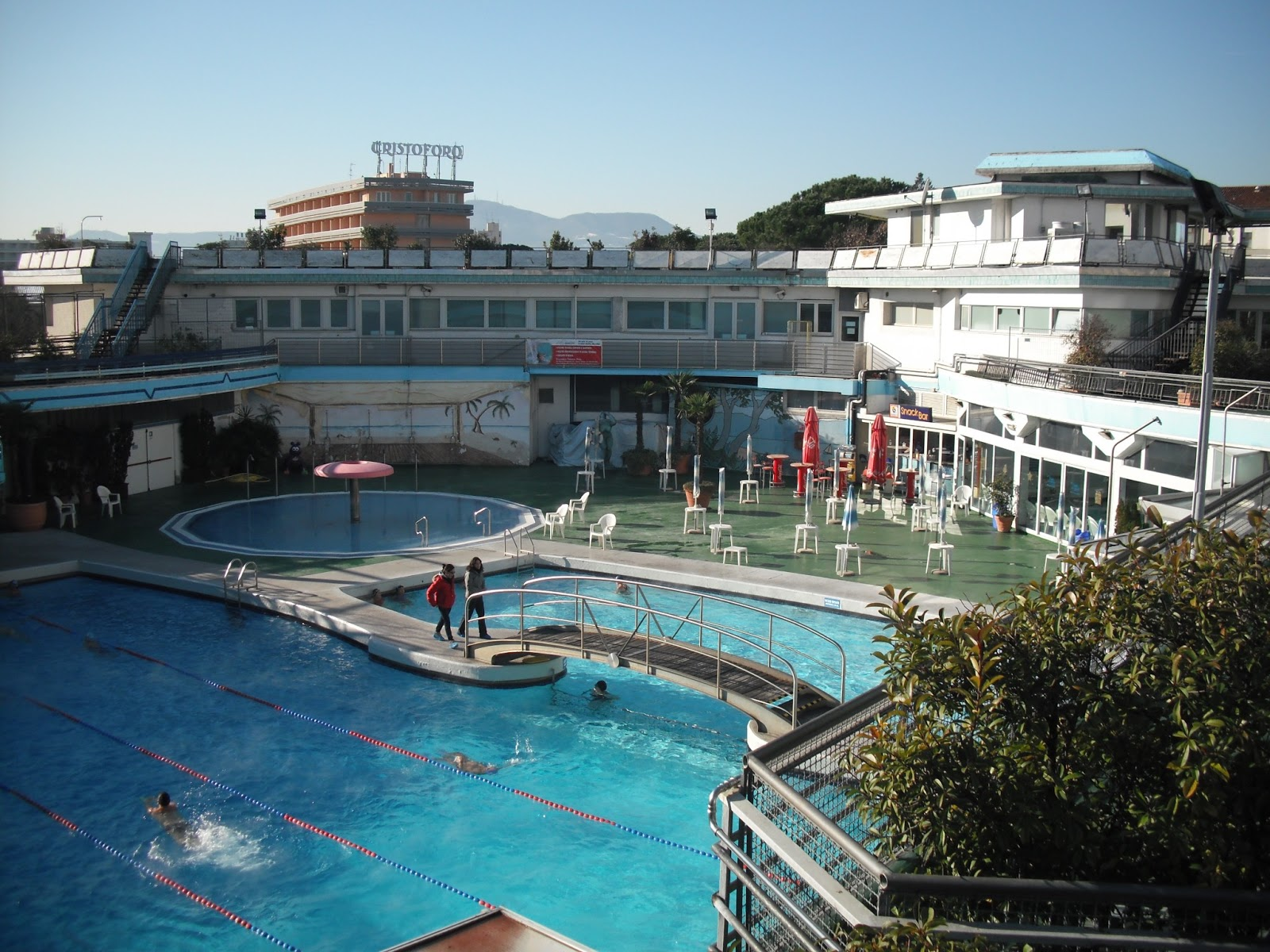 Piscina columbus abano terme dunamis urban tv rovigo for Abano terme piscine