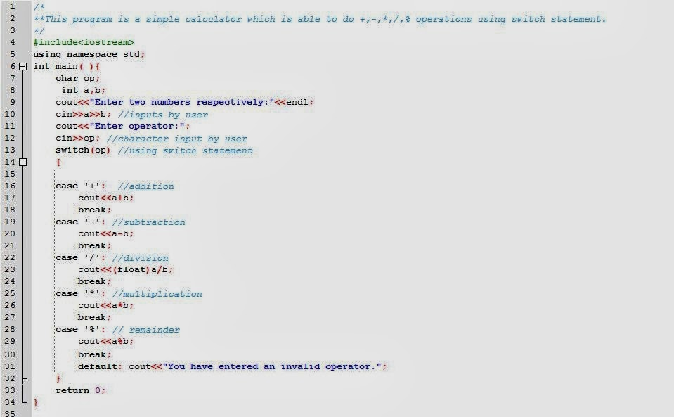 C Program To Make Simple Calculator on Multiplication Using Arrays