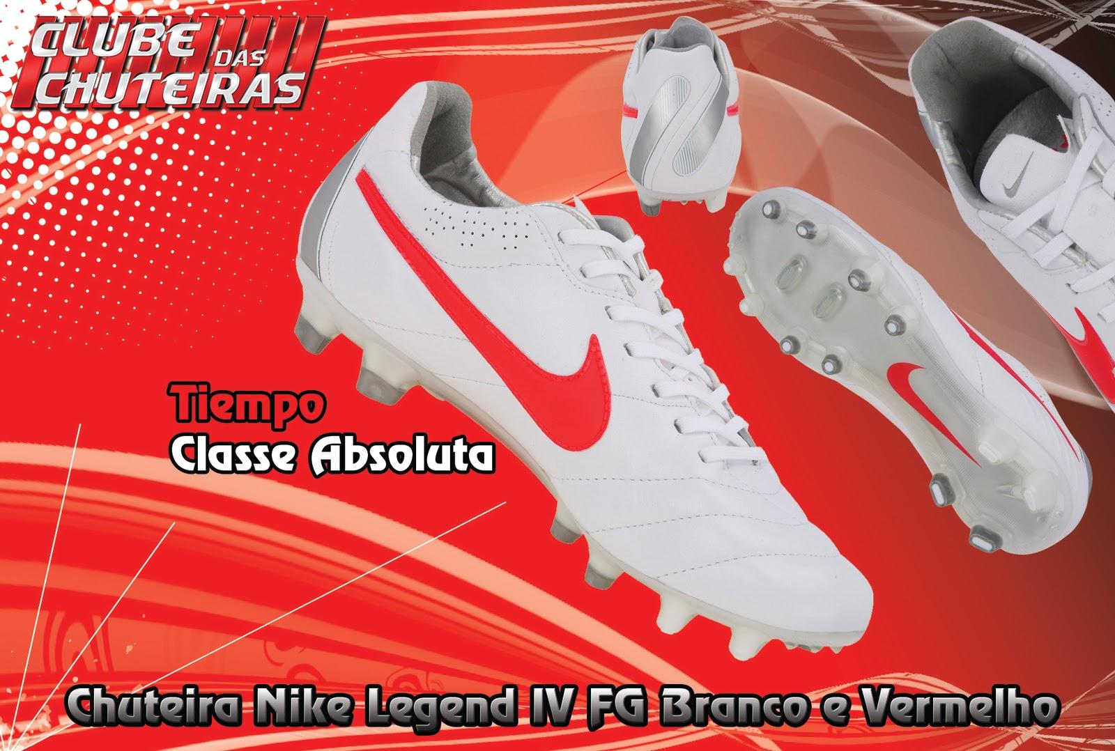 53e2a8b7f2 Chuteira Nike Tiempo Legend IV FG - Clube Das Chuteiras