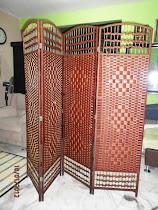 DIVIDER ROTAN 6 X 8 KAKI, 4 PENAL RM 140