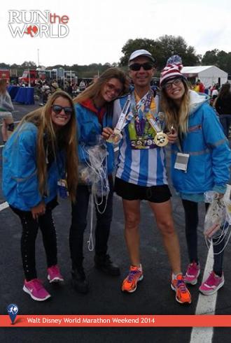Walt Disney World Marathon 2014