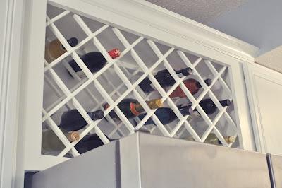 wine rack lattice plans