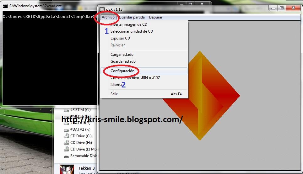 Cara Setting Memory Card + USB Joystick Game PS1 (Playstation One) di ...