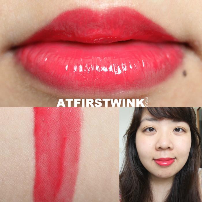 Dior Addict Fluid Stick 575 - Wonderland swatch, lips, full face