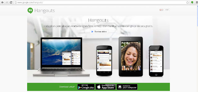 Google Hangout Web Download App