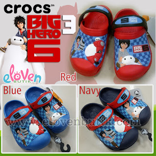 Crocs Anak Big Hero 6 3