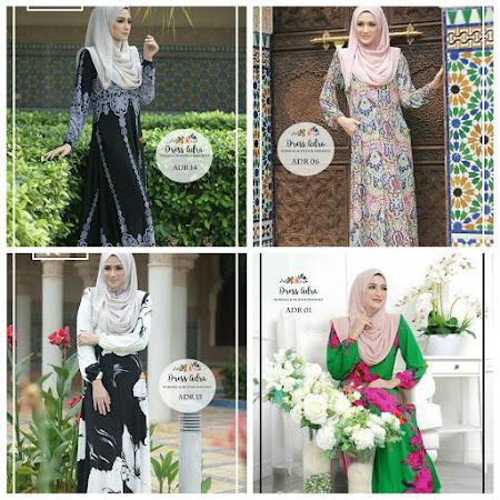 Paling Menawan Bisa Buatkan Anda Tertawan Dress Adra Memang Cantik Sangat