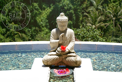 Buddha with Flowers at Lembah Spa, Ubud - Viceroy Bali Hotel