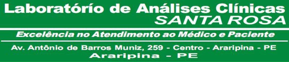 LABORATÓRIO SANTA ROSA