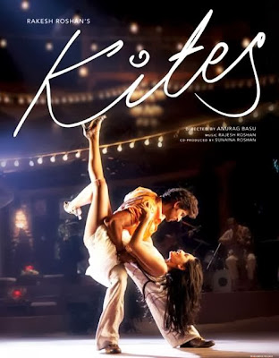 Poster Of Bollywood Movie Kites (2010) 300MB Compressed Small Size Pc Movie Free Download worldfree4u.com
