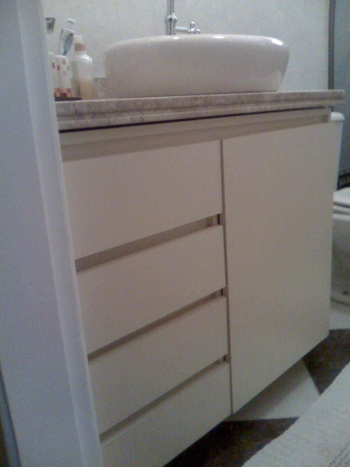 Castello Marcenaria Gabinete Banheiro -> Gabinete De Banheiro Bumi