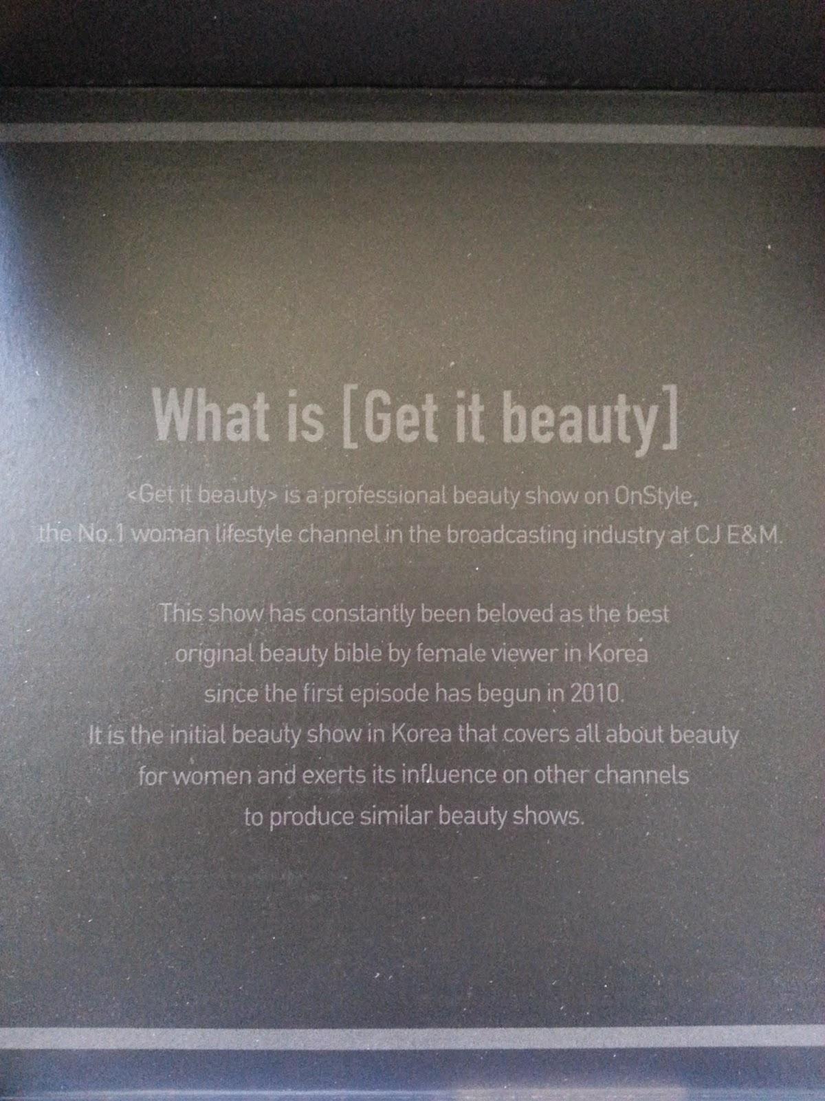 What Is Get It Beauty