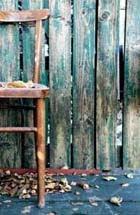 wyróżnienie w Art-Piaskownicy za krzesło