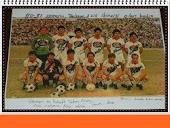 1981-1982 sezonu takım kadrosu.