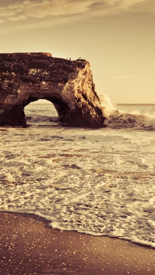 Beach Waves Hot Summer Day  Galaxy Note HD Wallpaper